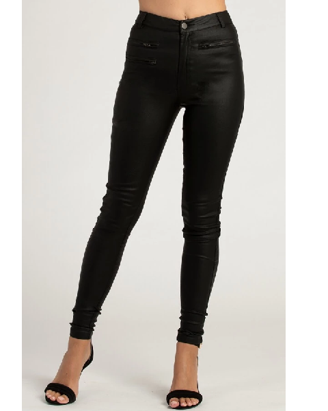 Stylestate Textured Womens Skinny Jeans With Zip Details