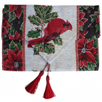 Table Runner Red Robin Christmas