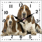 The Hounds 15cm Clock