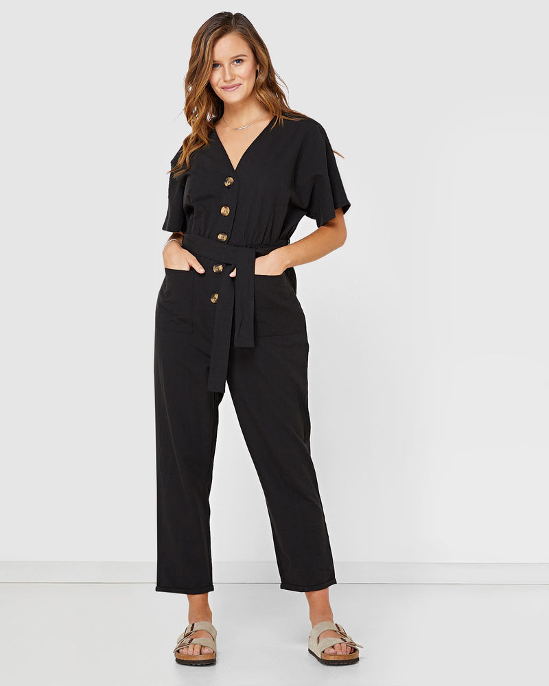 Tori Boiler Suit Elwood Jumpsuit Dusty Pink