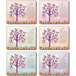 Tree of Love Placemat and Coasters