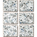 Umbria Blue Placemats and Coasters