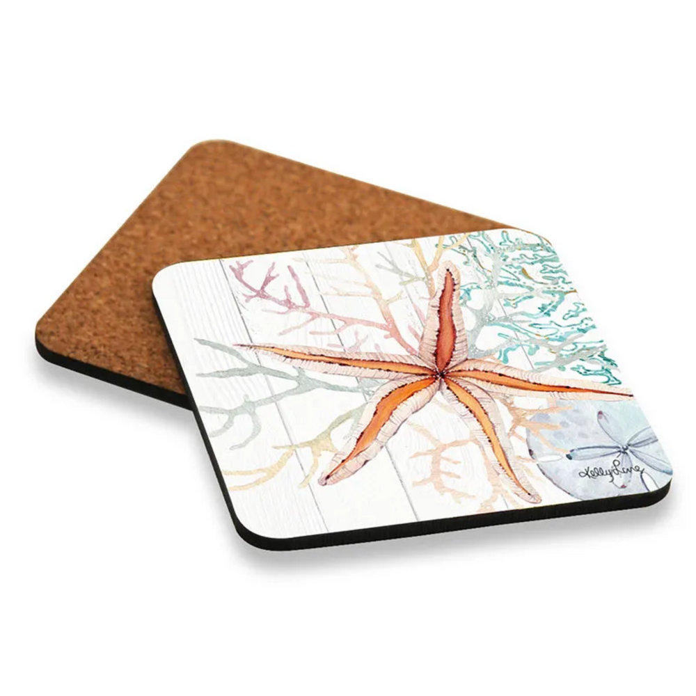 Starfish Apricot Placemats and Coasters