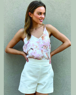 Spicy Sugar White Shorts | Womens Shorts