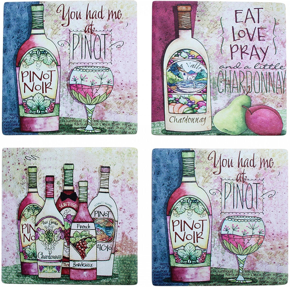 Coasters Wine Lovers