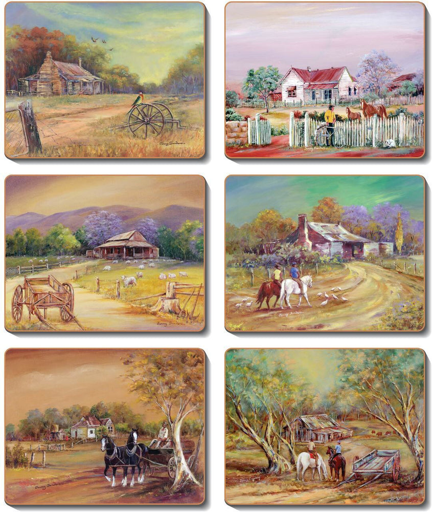 Homestead Placemats and Coasters