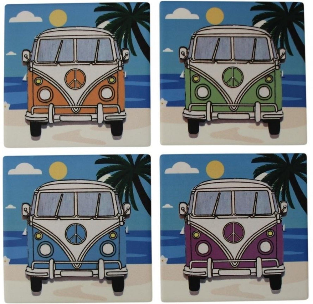 Kombi Coasters Assorted