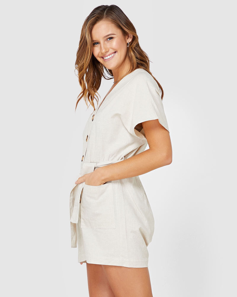 Georgie Jumpsuit Elwood Natural