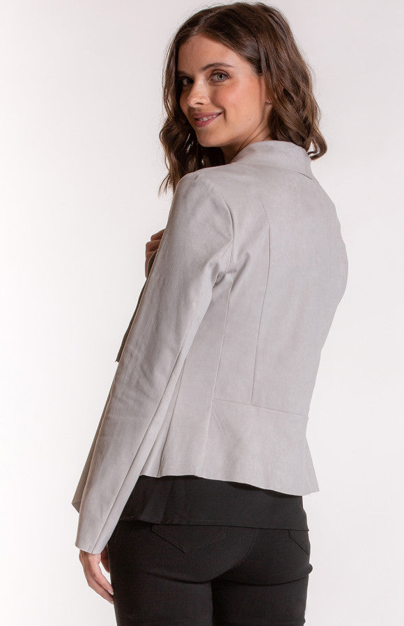 Waterfall Jacket with Zip Pocket | Brecha | Stylestate