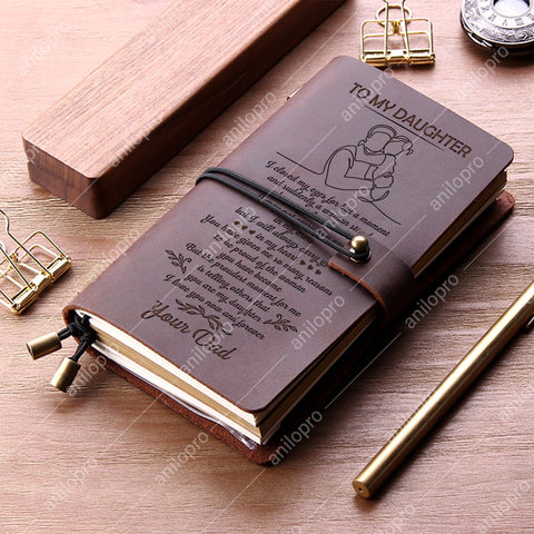 J2029 FROM DAD TO DAUGHTER GENUINE LEATHER JOURNAL - YOU ARE MY DAUGHTER
