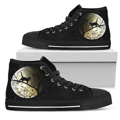 Cat Moon Night Shoes