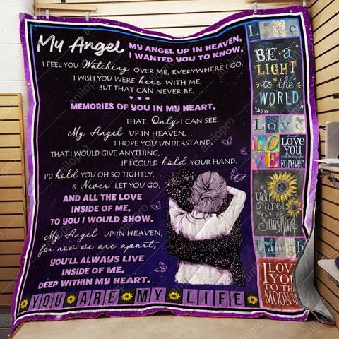 Image of QUILT - MY ANGEL UP IN HEAVEN