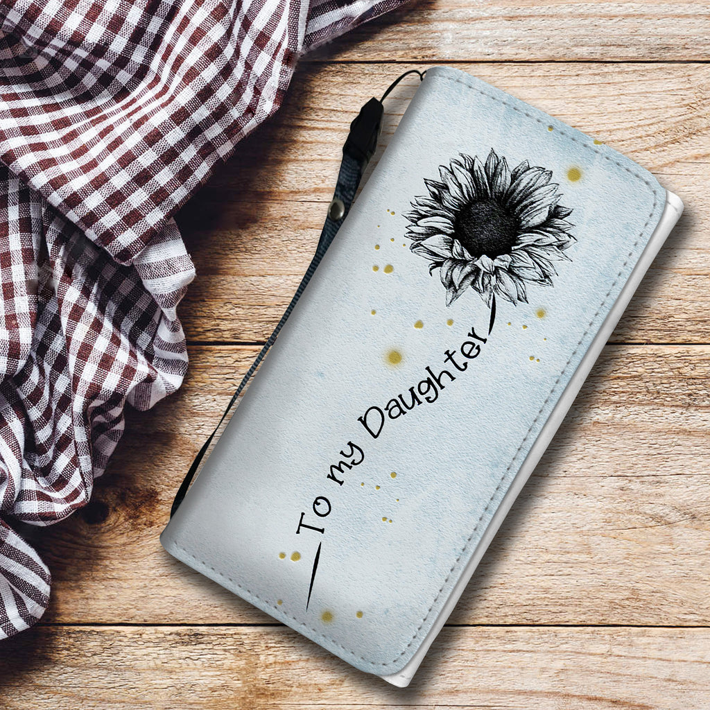I Love You To The Moon And Back - Sunflower Wallet