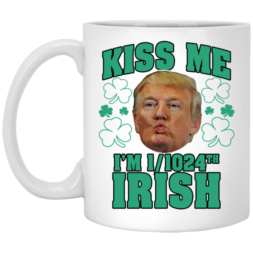 Kiss Me I'm 1024th Irish