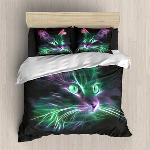 Lighting Cat  Bedding
