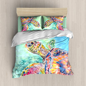 B1002 Turtle Bedding Set