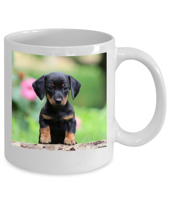 Dog Mug - Gift for Cat Dad/Mom - Custom Photo Dog Mug