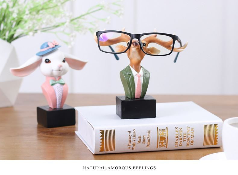 DEER/ RABBIT GLASSES STAND