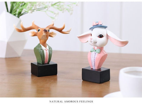 Image of DEER/ RABBIT GLASSES STAND