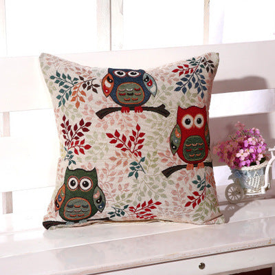Owl  Pillow Cover