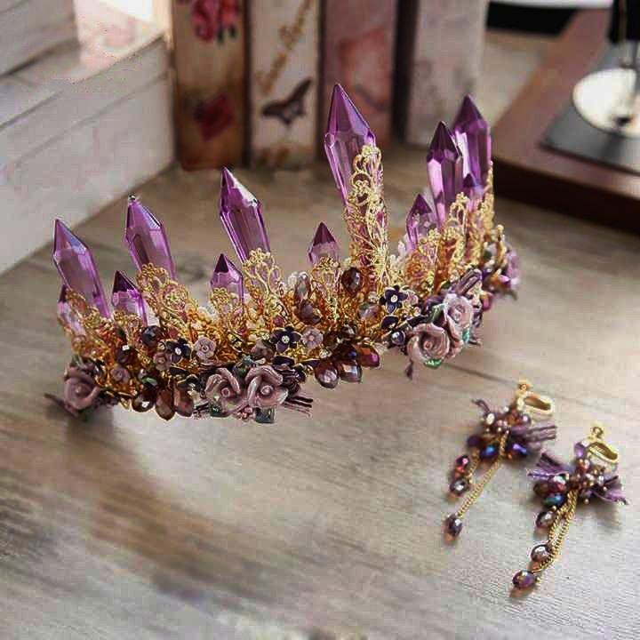 Purple Temptress Tiara