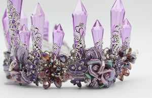Purple Enchantress Tiara
