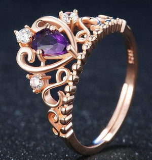 The Crown Jewel Amethyst Ring