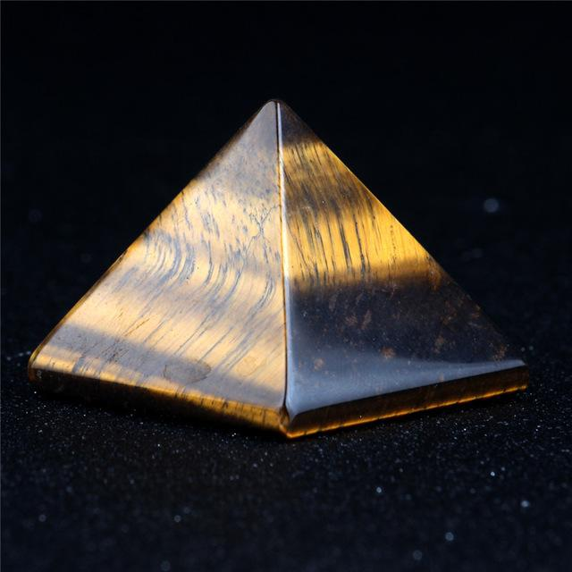 opal crystal pyramid healing natural stone my essential planet sacred geometry