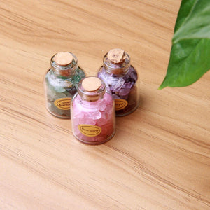 Mini Gemstone Bottles (9pcs)