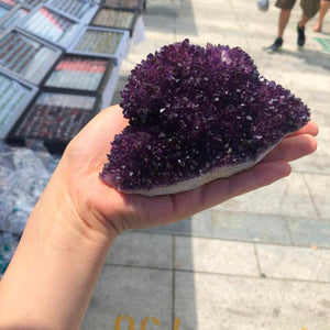 Spiky Amethyst Clusters
