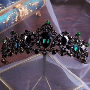 Green Witch Tiara