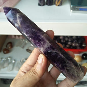 150-180mm Dream Amethyst Points (14 sizes)