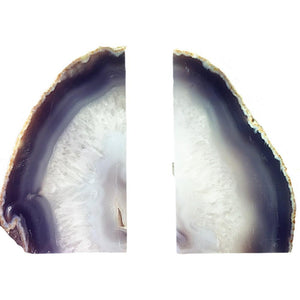 Agate Carved Bookends (Pair)