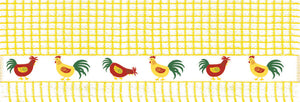 poli dri 100% Cotton Dish Towel Jacquard Prints| Color| Chickens