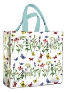 Herbs & Butterflies Medium Gusset Bag