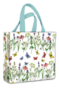 Herbs & Butterflies Mini Gusset Bag