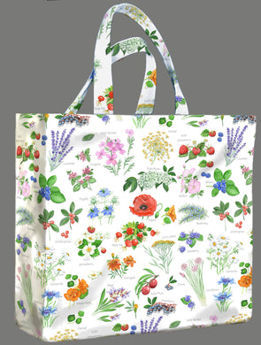Hedgerow PVC Medium Gusset Bag