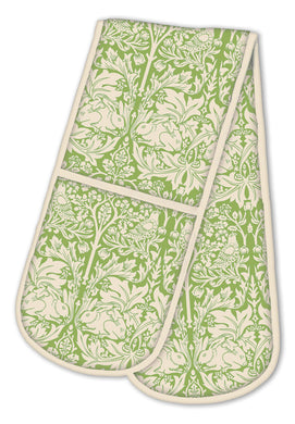 Brother Rabbit Double Oven Glove, Green