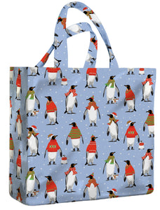 Cosy Penguins PVC Medium Gusset Bag