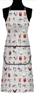 Farmyard Frolics Cotton Apron