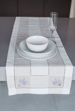 Lavender Table Runner| Lavender Table Runner| 1272