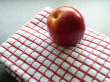 poli dri 100% Cotton Dish Towel| Color| Red
