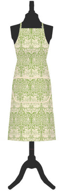 Brother Rabbit Cotton Apron, Green