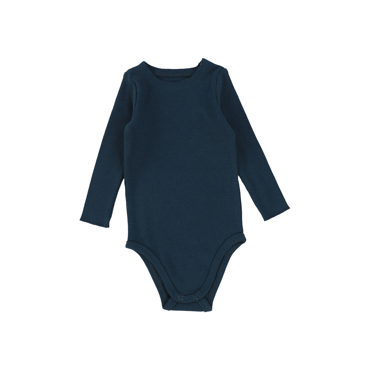 Navy Ribbed Onesie