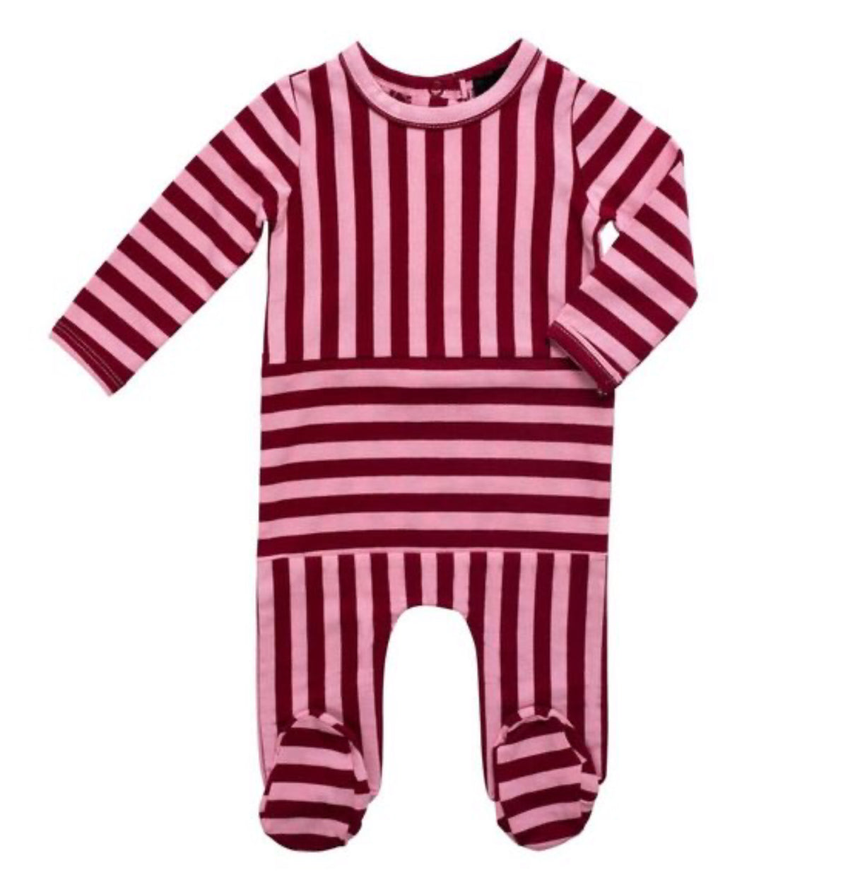 Striped Burgundy Set