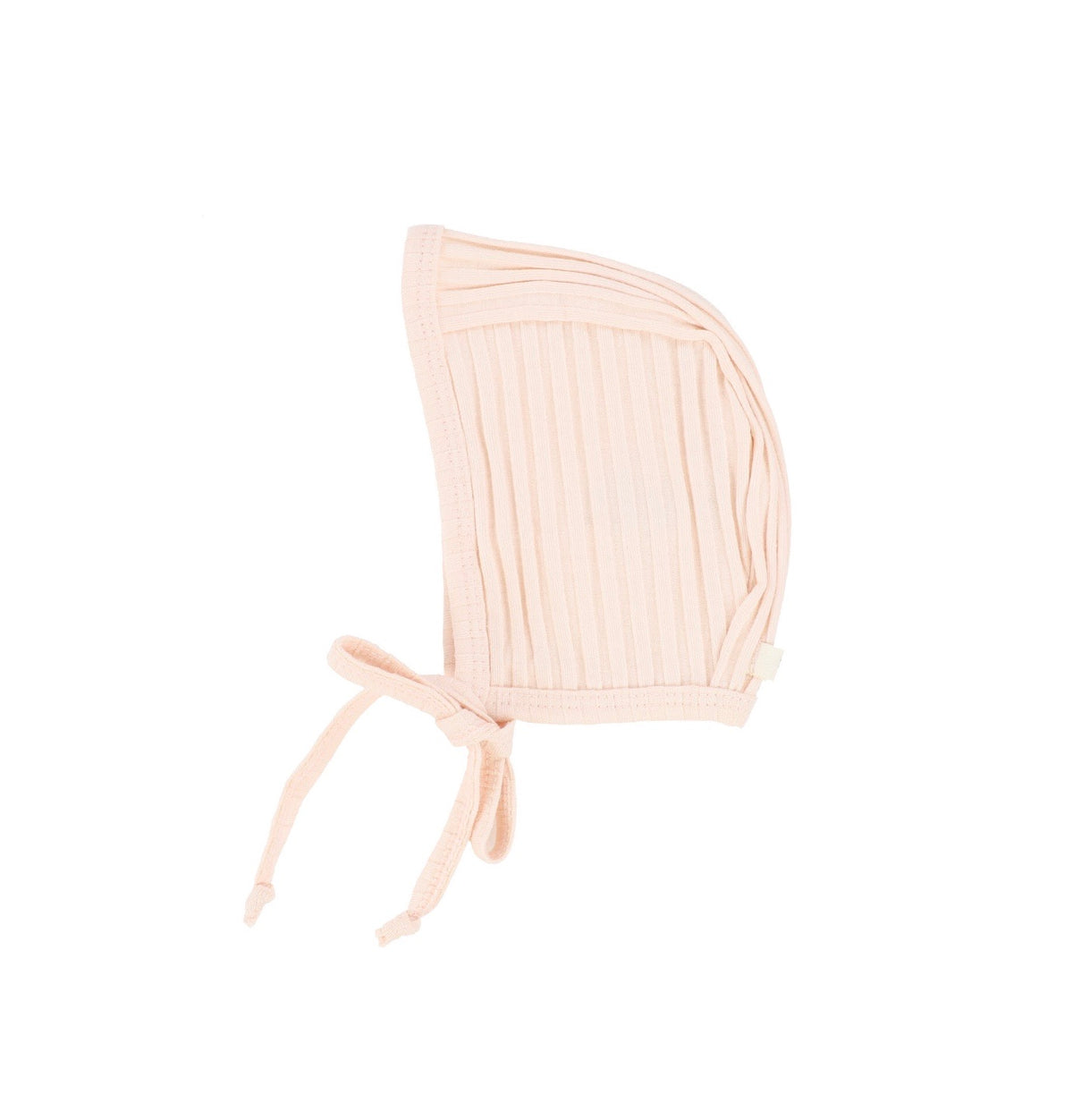 Petal Pink Wide Ribbed Bonnet