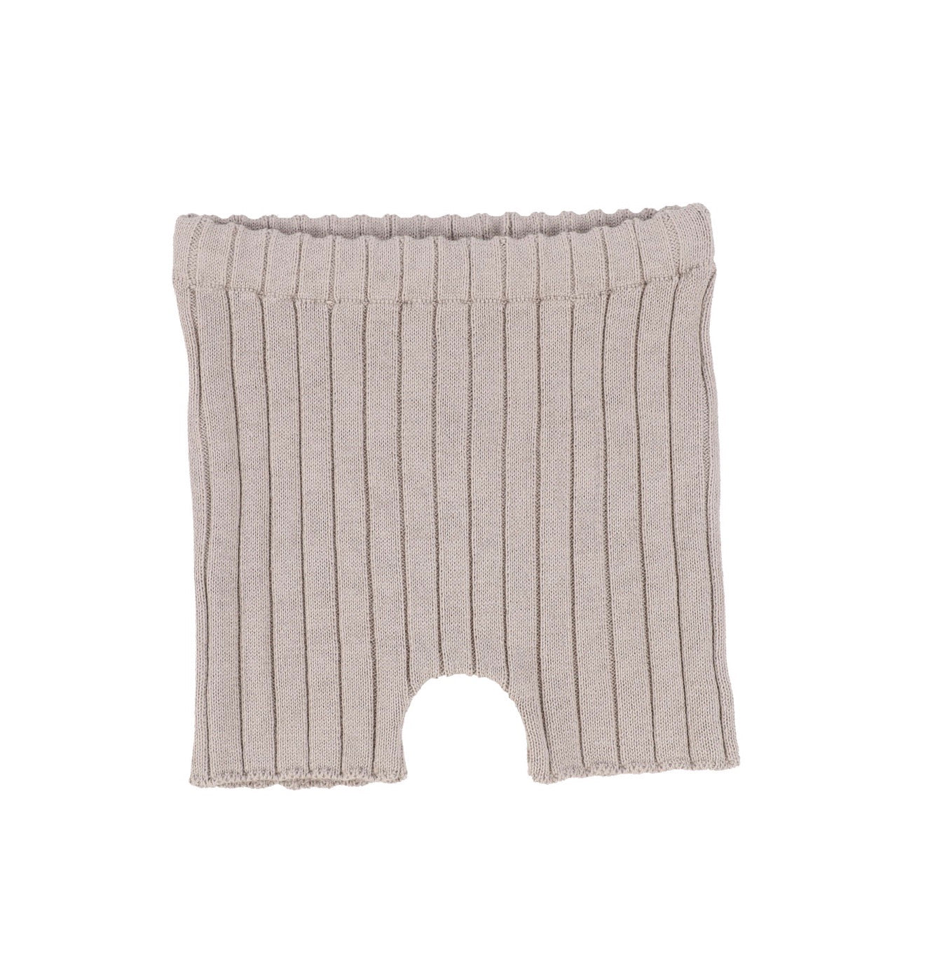 Taupe Knit Shorts