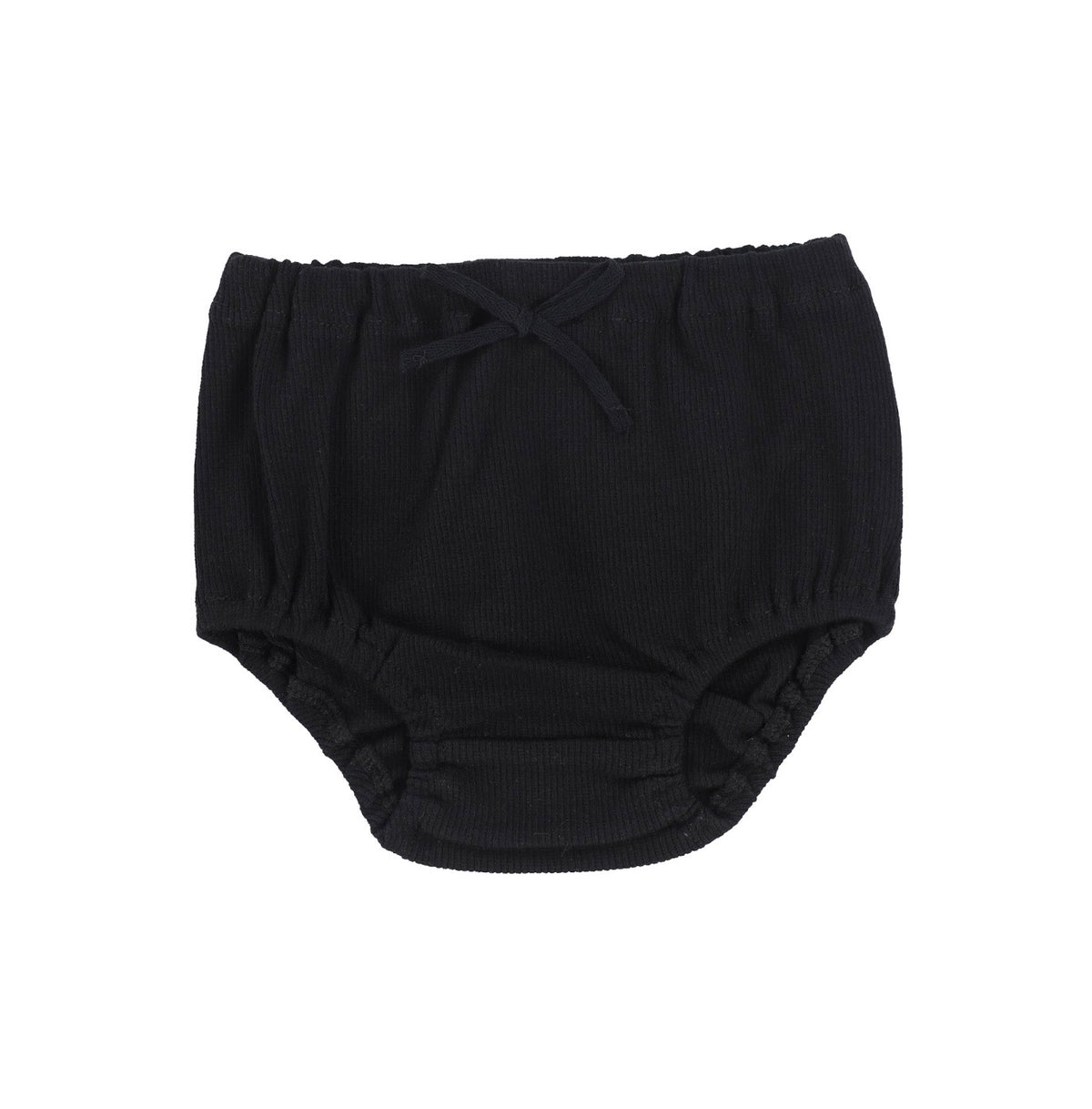 Black Rib Bloomers