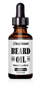 Beard Growth Oil Unscented & Natural ingredients