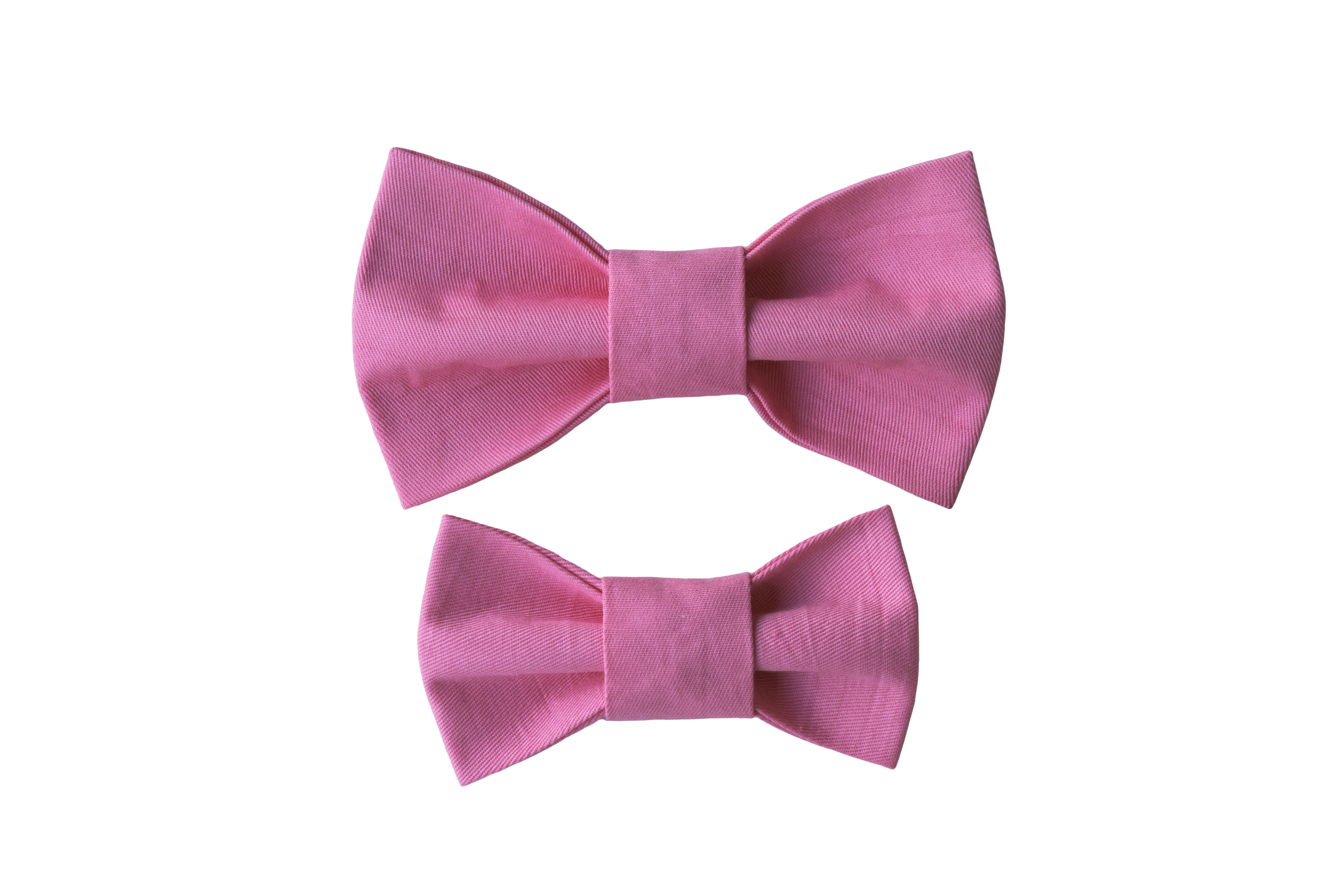 Pink Pastel Bow Tie
